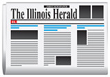 First newspaper - The Illinois Herald