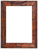 Carved Wooden Frame Cutout