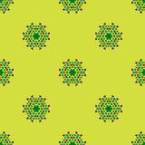 Creative Ornamental Seamless Green Pattern