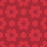 Creative Ornamental Seamless Red Pattern
