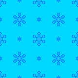 Creative Ornamental Seamless Blue Pattern