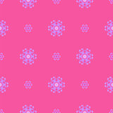 Creative Ornamental Seamless Pink Pattern