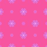 Creative Ornamental Seamless Pink Pattern