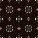 Creative Ornamental Seamless Dark Pattern