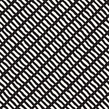 Vector Seamless Hand Drawn Diagonal Lines Rectangles Pattern