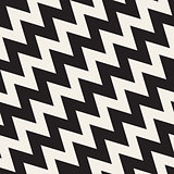Vector Seamless ZigZag Diagonal Lines Pattern