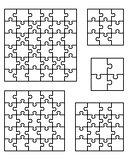 puzzles, separate pieces