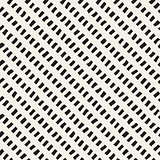 Vector Seamless Black And White Hand Drawn Diagonal Lines Rectangles Pattern