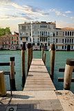 Jetty in Venice