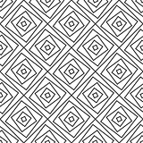 Seamlss pattern - simple geometric background.