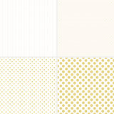 Seamless dotted patterns.