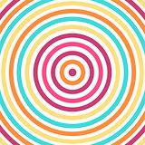 Colorful vibrant pattern.