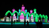 Harbin Ice Festival sculpture