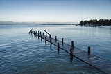 Starnberg Lake near Tutzing