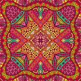 multicolor vintage ethnic pattern ornamental