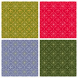 Geometric backgrounds. Seamless patterns