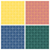 Seamless patterns. Geometric lattice