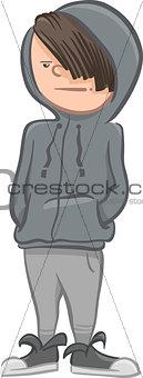 boy character cartoon illustrattion