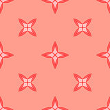 Seamless geometric pattern. Pink