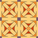 Seamless geometric pattern. Color