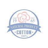 Cotton Natural Product Logo Design