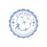 Cotton Blue Product Logo Design