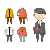 Different Outfits For Character Construction