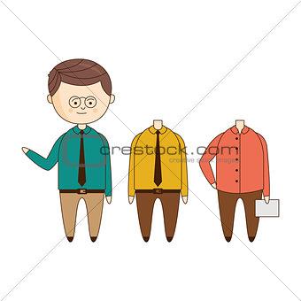 Office Worker Wardrobe Set