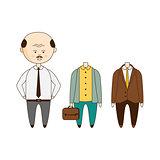 Bold Man Wardrobe Set