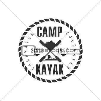 Camp KAyak Emblem Design