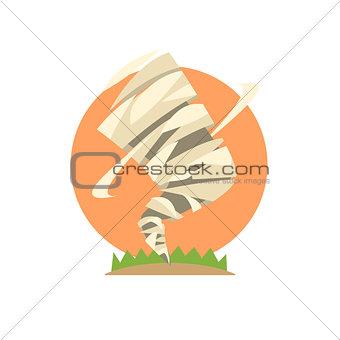 Tornado Natural Force Sticker