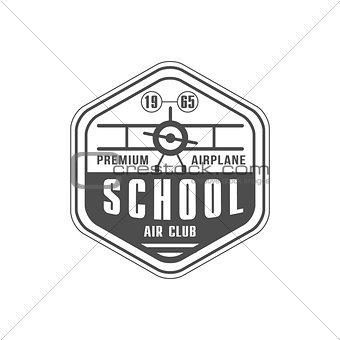 Air Club Emblem Design