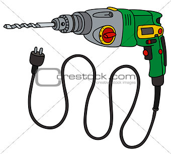 Green electric impact drill