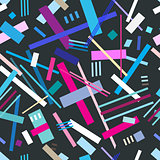 Colorful cool geometric pattern