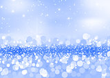 Twinkled Blue Sand Background