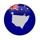 Australia state of New South Wales button