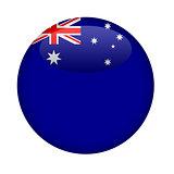 Blank Australia button