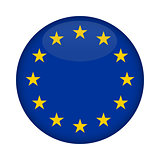 Blank Euro Flag button