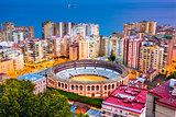 Malaga, Spain Bullring