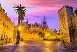 Seville, Spain Plaza