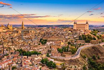Toledo, Spain Skyline