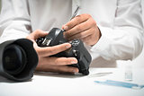 Digital Camera Cleaning, Repair or Maintenance