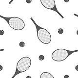 Sports seamless background, vector illustration.