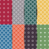 Set of seamless pattern, vector illustration.