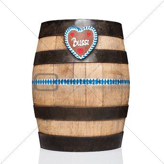 bavarian beer barrel