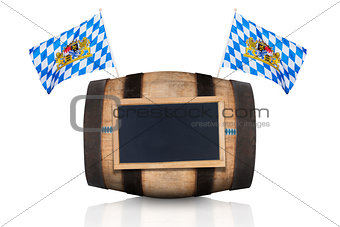 bavarian beer barrel