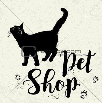 Background for pet shop