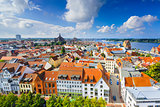 Rostock, Germany Skyline
