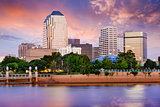 Shreveport, Louisiana Skyline