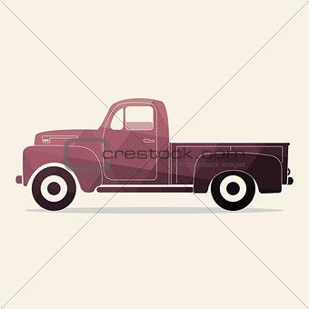 Classic pickup icon